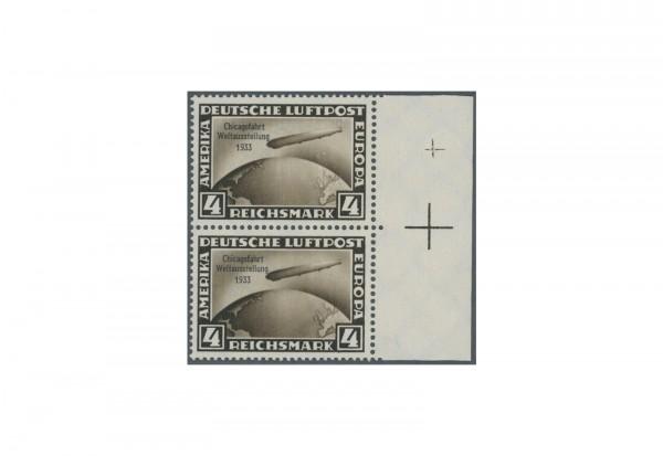 Briefmarke Deutsches Reich Chicagofahrt 1933 Michel-Nr.489 PA postfrisch