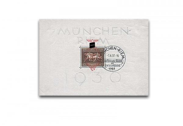 Deutsches Reich Block 10 gestempelt