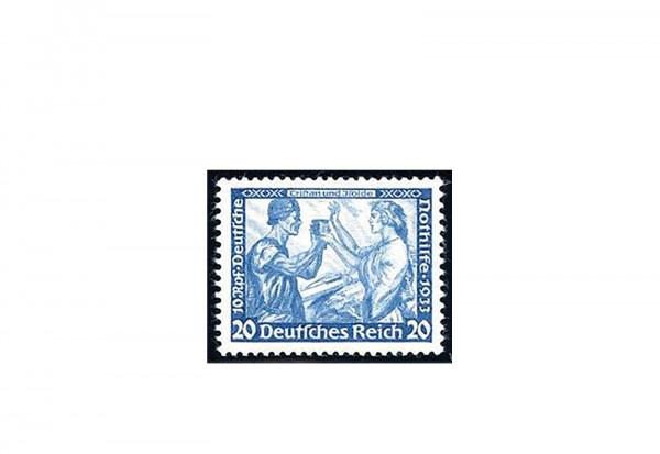 Briefmarke Deutsches Reich Wagner 1933 Michel-Nr. 505 A Falz