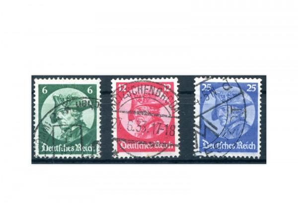 Deutsches Reich Mi.Nr. 479/481 gestempelt