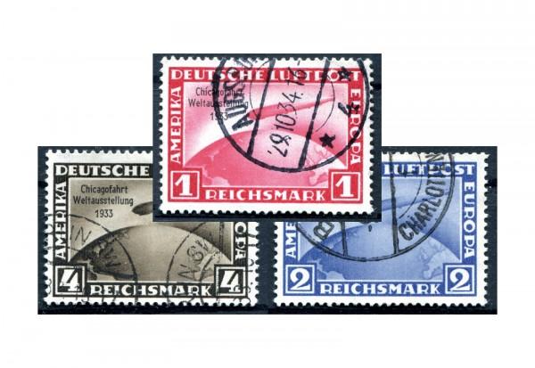 Deutsches Reich Mi.Nr. 496/498 gestempelt