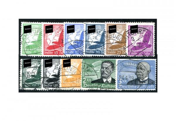 Deutsches Reich Mi.Nr. 529/539 gestempelt