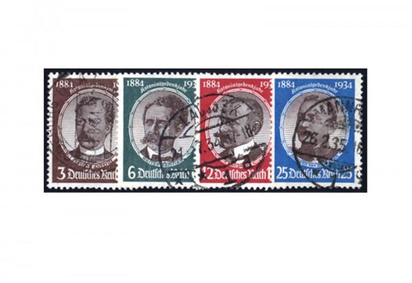 Deutsches Reich Michel Nr. 540/43 gestempelt