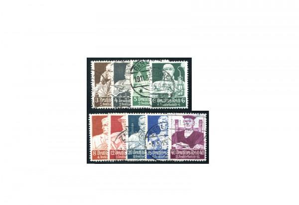 Deutsches Reich Mi.Nr. 556/564 gestempelt