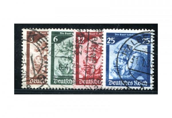 Deutsches Reich Mi.Nr. 565/568 gestempelt