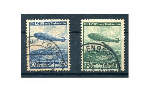 Deutsches Reich Mi.Nr. 606/07 gestempelt