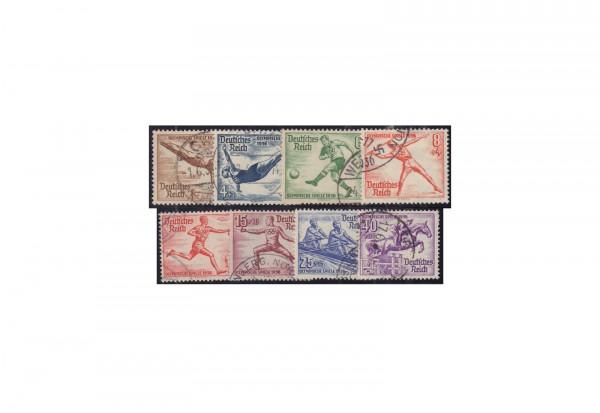 Deutsches Reich Michel Nr. 609/16 gestempelt