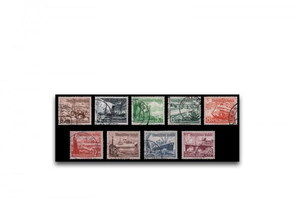 Briefmarken Deutsches Reich Winterhilfe 1937 Michel Nr. 651/659 gestempelt
