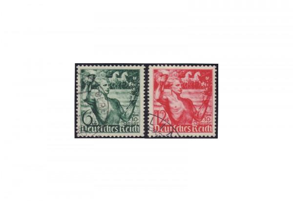 Deutsches Reich Mi.Nr. 660/61 gestempelt