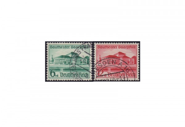 Deutsches Reich Mi.Nr. 673/674 gestempelt