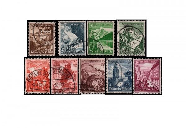 Deutsches Reich Michel 675/683 gestempelt
