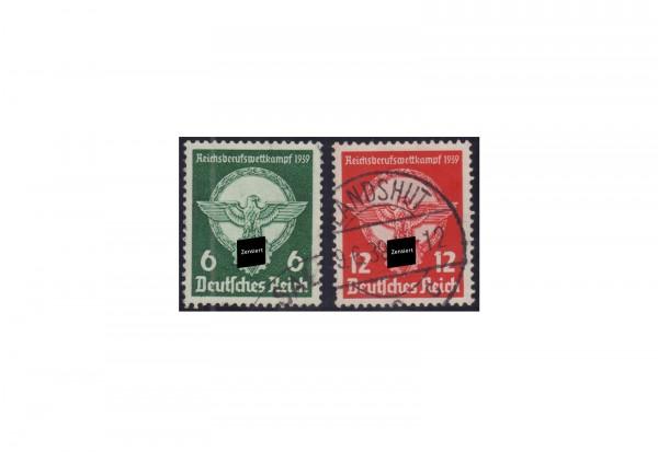 Deutsches Reich Mi.Nr. 689/90 gestempelt