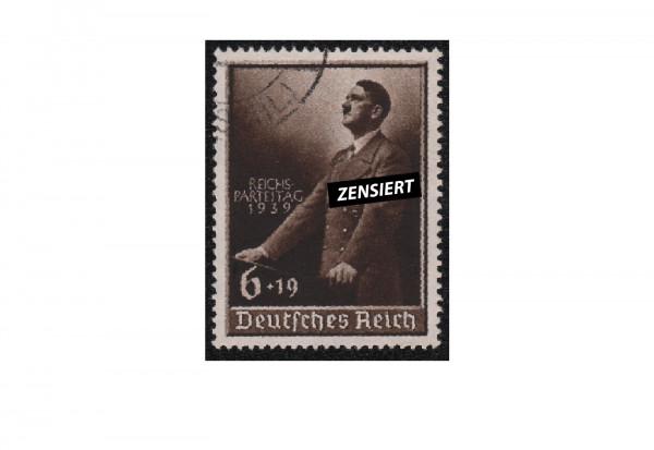 Briefmarke Deutsches Reich Parteitag 1939 Michel-Nr. 701 gestempelt