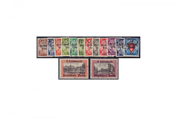 Deutsches Reich Mi.Nr. 716/29 gestempelt