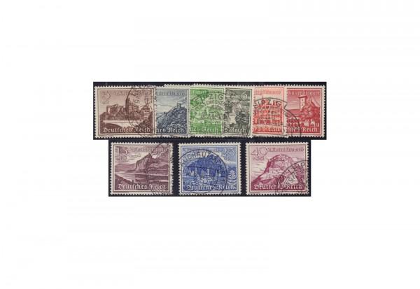 Deutsches Reich Mi.Nr. 730/38 gestempelt