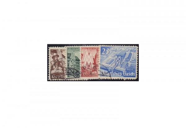 Deutsches Reich Mi.Nr. 739/42 gestempelt