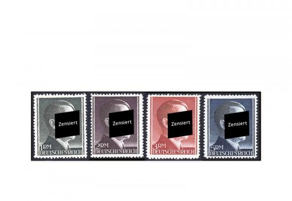 Deutsches Reich Mi.Nr. 799/802 gestempelt