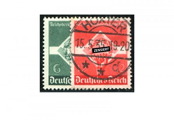 Briefmarken Deutsches Reich Reichsberufwettkampf 1935 Michel-Nr. 571/72 gestempelt