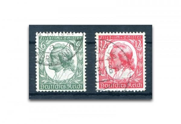 Deutsches Reich Mi.Nr. 554/555 gestempelt