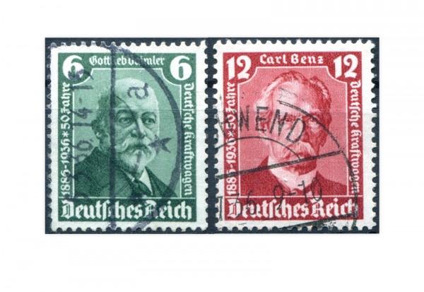 Deutsches Reich Mi.Nr. 604/605 gestempelt