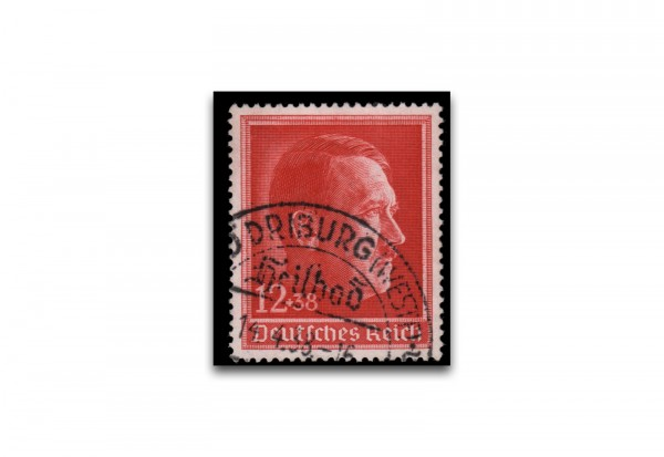 Briefmarke Deutsches Reich Hitlergeburtstag Michel-Nr. 664 gestempelt