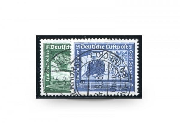 Deutsches Reich 669/70 gestempelt