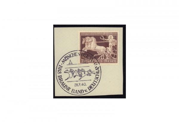 Briefmarke Deutsches Reich Braunes Band Michel-Nr. 747 gestempelt