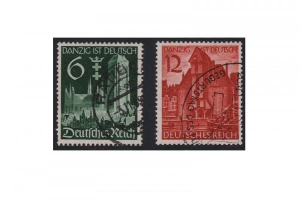 Deutsches Reich Mi.Nr. 714/715 gest. Wiedereingliederung v. Danzig