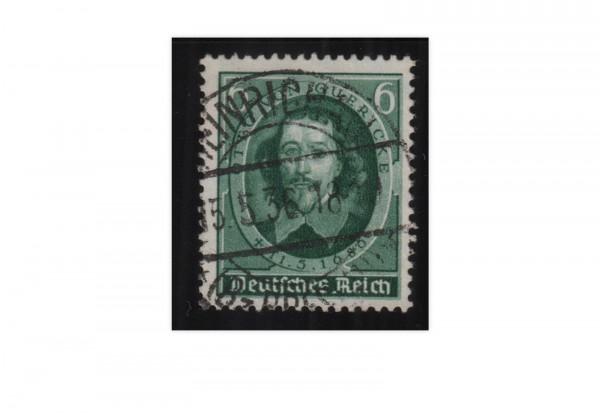 Deutsches Reich Mi.Nr. 608 gestempelt 250. Todestag O.v. Guerickes