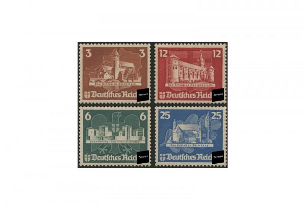 Deutsches Reich Block 3 Einzelmarken 1935 Michel Nr. 576/9 gestempelt