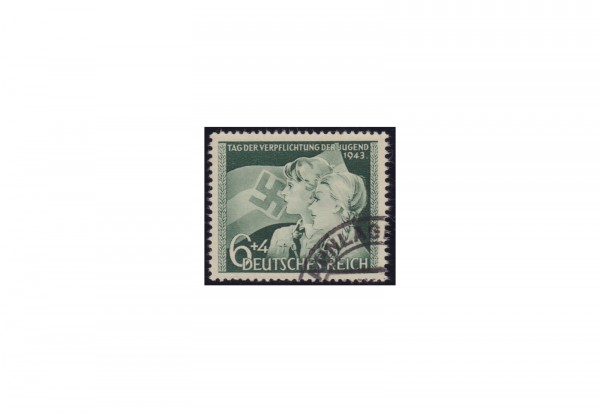 Deutsches Reich Michel-Nr. 843 gestempelt