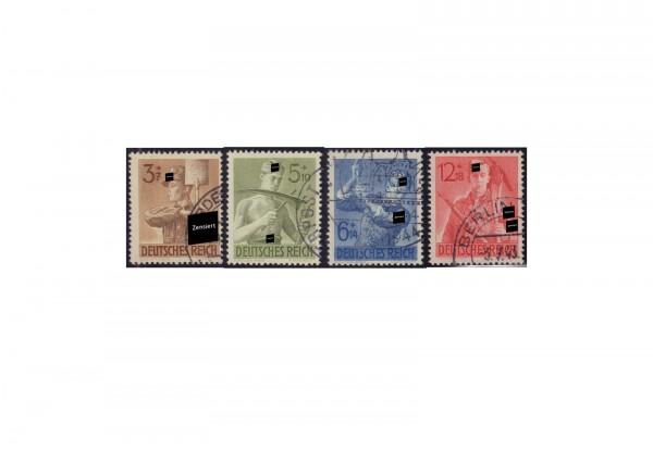 Deutsches Reich Mi.Nr. 850-853 gest.