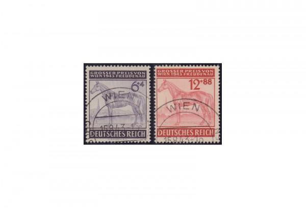 Deutsches Reich Mi.Nr. 857-858 gest.