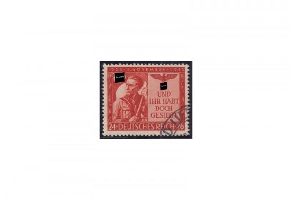 Briefmarke Deutsches Reich 20. Jahrestag 1943 Michel-Nr. 863 gestempelt