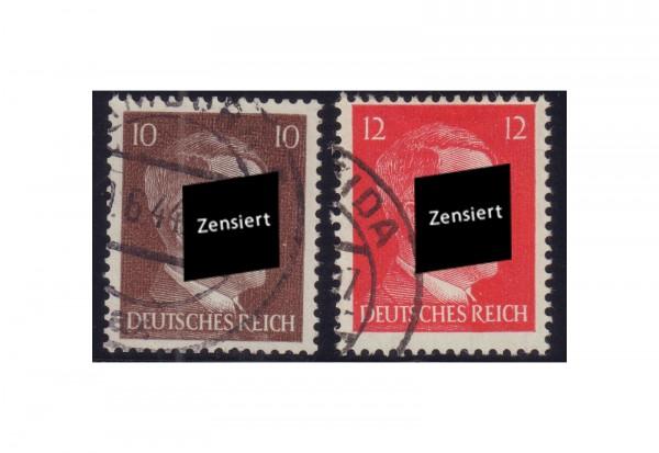 Deutsches Reich Mi.Nr. 826-827 gest.