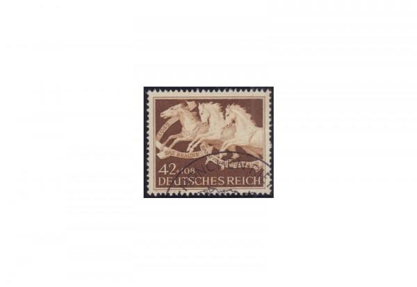 Deutsches Reich Mi.Nr. 815 Braunes Band 1942 gestempelt