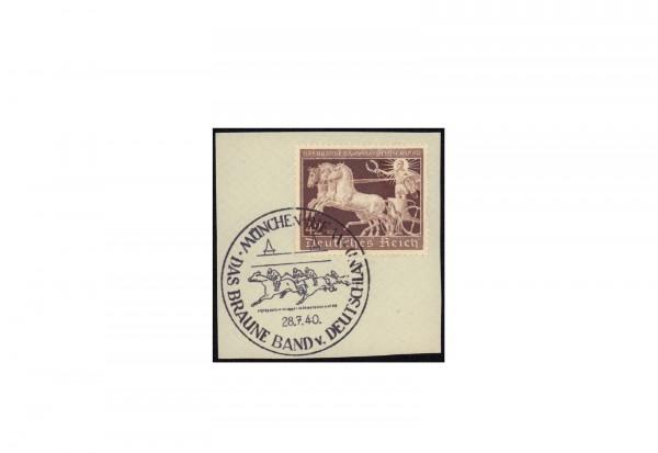 Briefstück Deutsches Reich Braunes Band 1939 Michel-Nr. 699 gestempelt