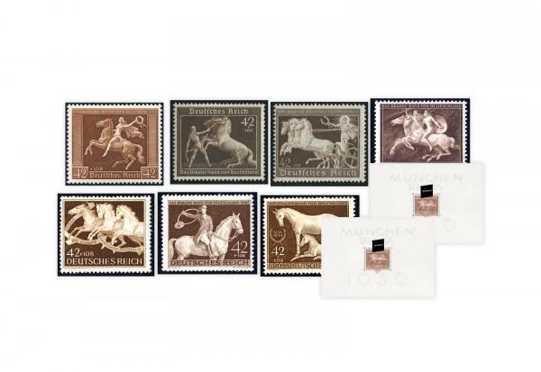 Briefmarken Deutsches Reich Braunes Band 1936-1944 im Set