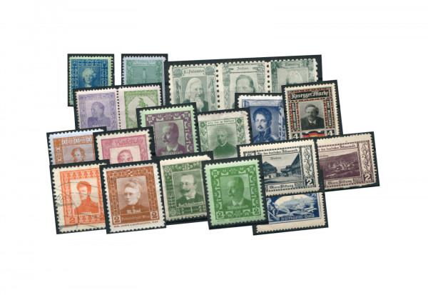 Briefmarken Deutsches Reich 1900-1930 verschiedene Reklamemarken ungebraucht