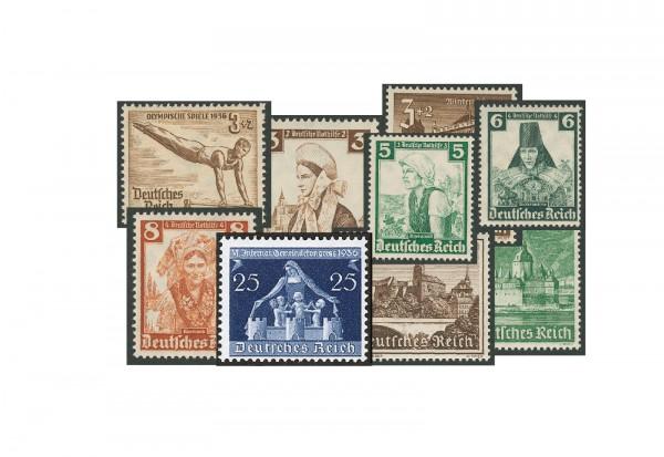 Briefmarken Deutsches Reich Lot 1933-1945 postfrisch