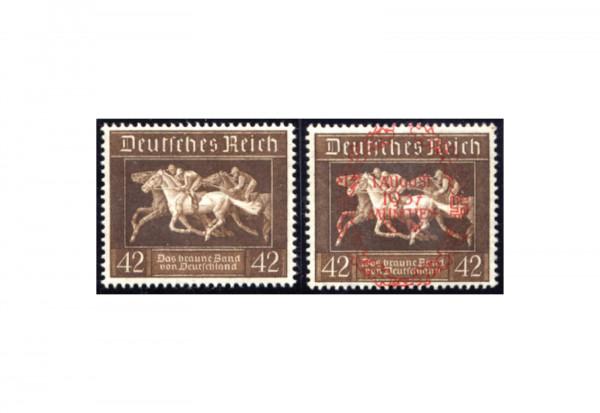Briefmarken Deutsches Reich Braunes Band 1936 Michel-Nr. 621/649 postfrisch