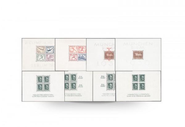 Briefmarken Deutsches Reich 1936-1937 Block 4-11 postfrisch