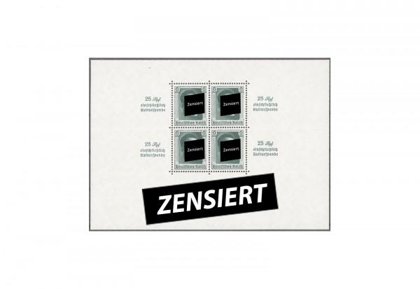 Deutsches Reich Block 9 Kulturförderung 1937 postfrisch