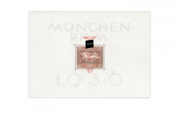 Briefmarken Deutsches Reich Braunes Band 1937 Block 10 postfrisch