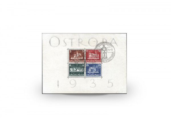 Deutsches Reich Mi.Nr. 576/79 Block 3 gestempelt