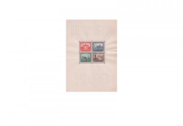 Deutsches Reich Iposta 1930 Block 1 postfrisch geprüft