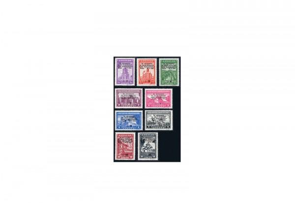 Briefmarken Deutsche Besetzung Serbien 1943 Michel-Nr. 99-107