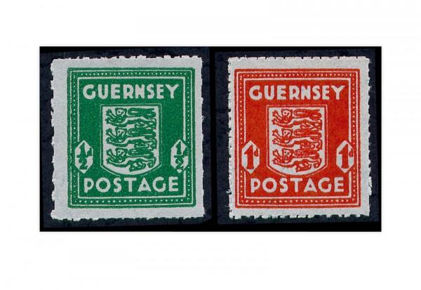 Guernsey Mi.Nr. 4/5 **