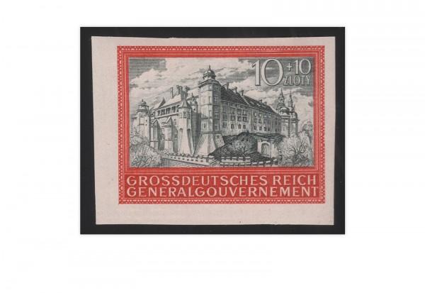 5 Jahre Generalgouvernement Michel-Nr. 125 U postfrisch