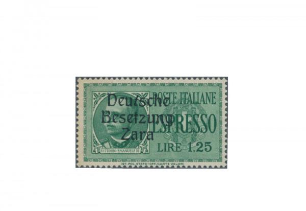Briefmarke Deutsches Reich Zara Eilmarke 1943 Michel-Nr. 21 PF XV postfrisch Fotobefund